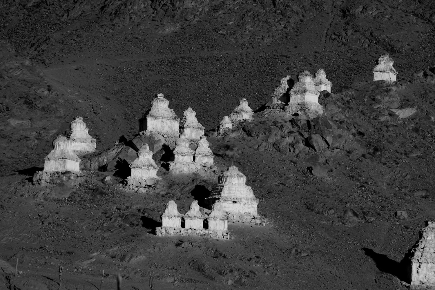 Stupa, Zanskar valley, Ladakh, India