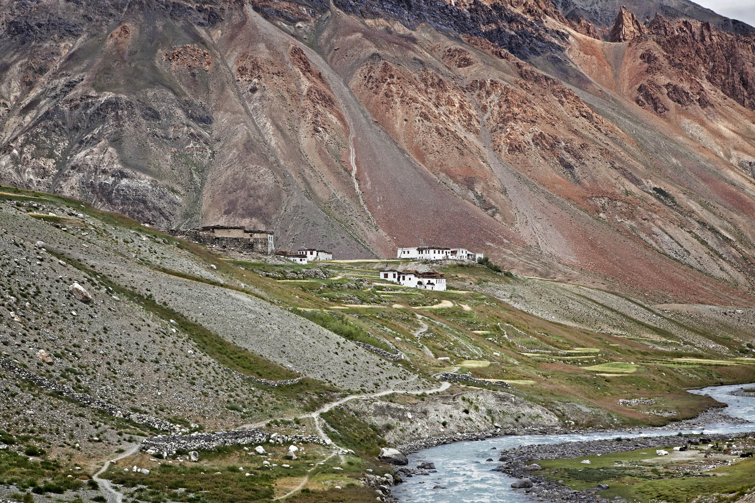 Kargyak village, Zanskar, India