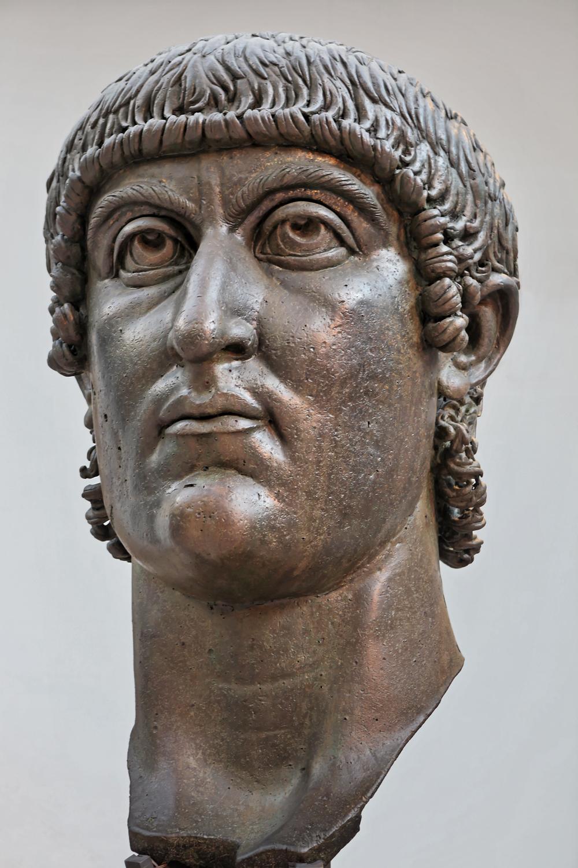 Bronze head of Constantine, Musei Capitolini, Rome