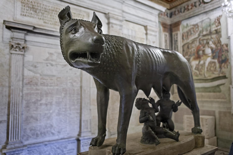 Capitoline She-wolf, Musei Capitolini, Rome