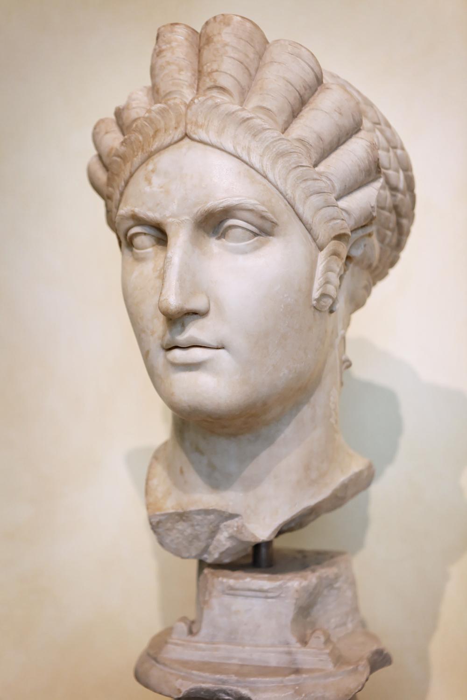 Portait of Matidia, Musei Capitolini, Rome