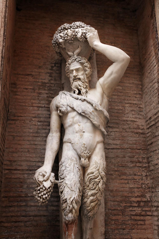 """""""Satiro Della Valle"""", Musei Capitolini, Rome"""