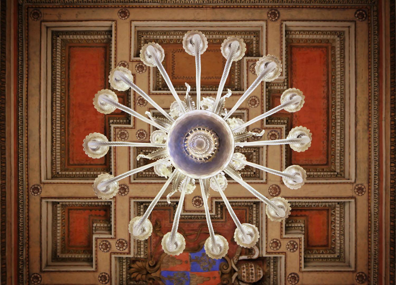 Murano Chandelier, Musei Capitolini, Rome