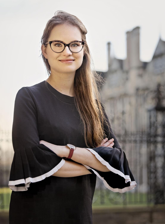 Karolina Watroba - DPhil candidate at Merton College, Oxford