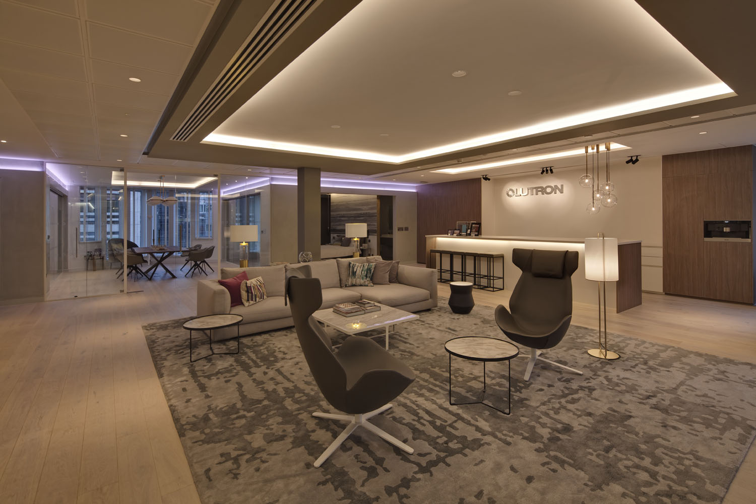 Lutron European Experience Centre in The City of London