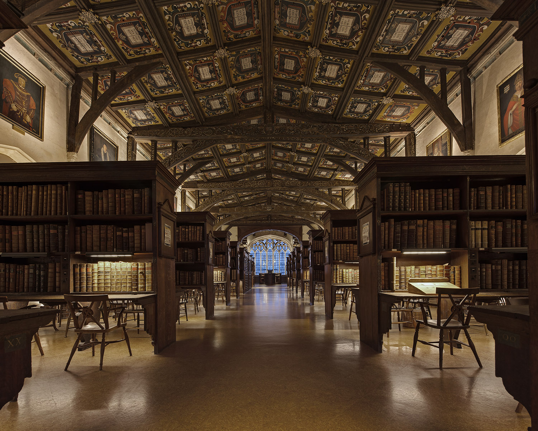Duke Humfrey's Library, Bodleian Library, University of Oxford, Oxford, UK