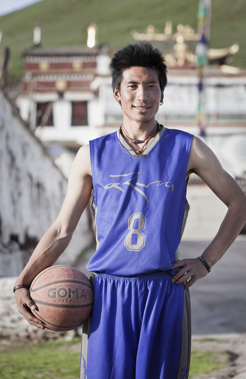 Basketball in Tibet - Norlha Basketball Team