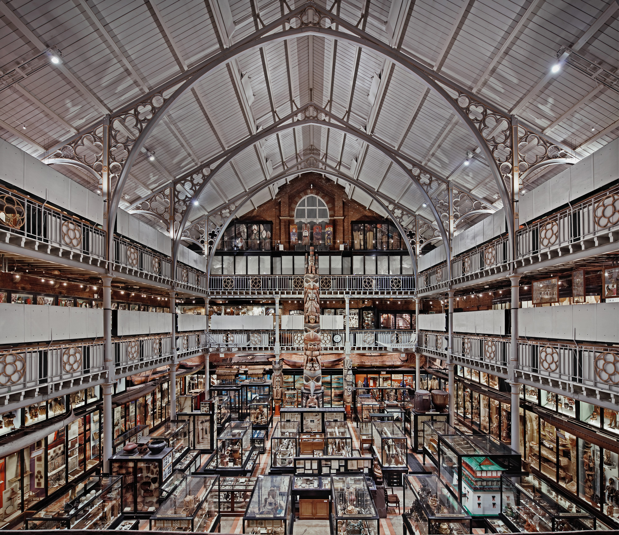 Pitt Rivers Museum, Oxford, UK