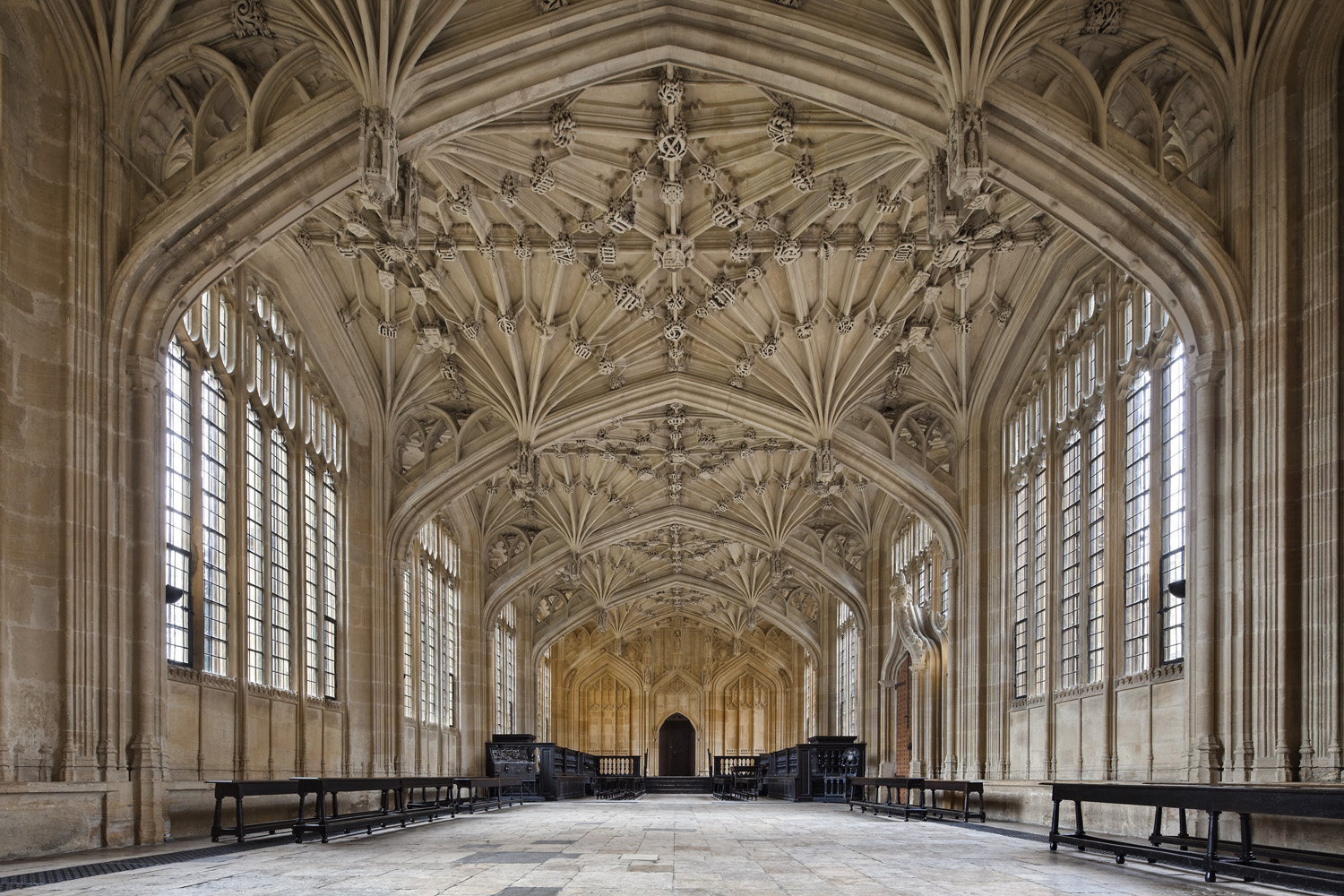 Divinity School, Bodleian Libraries, Oxford, UK