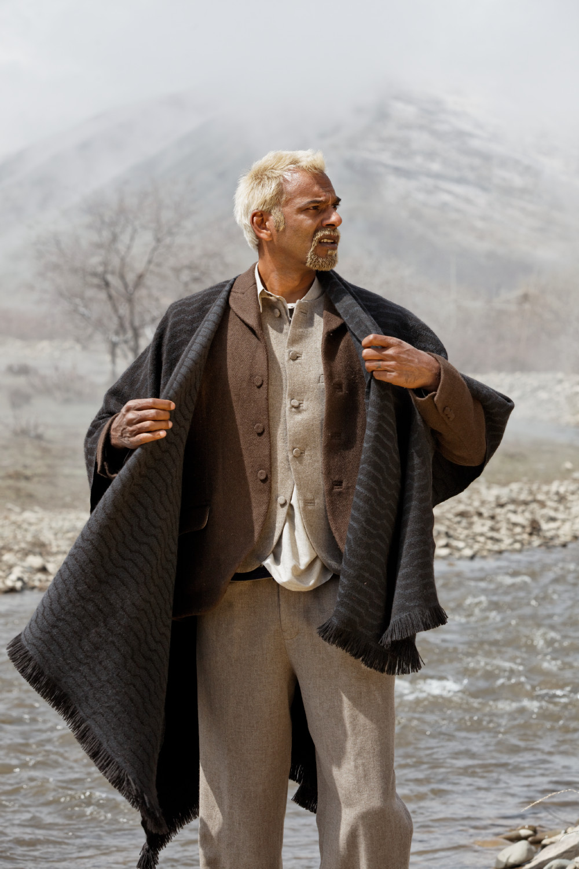 Satya Oblette wearing Norlha, Norden Camp, Amdo, Tibet