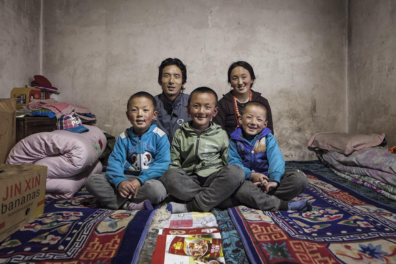 Norlha families. Norlha atelier, Ritoma, Amdo, Tibet