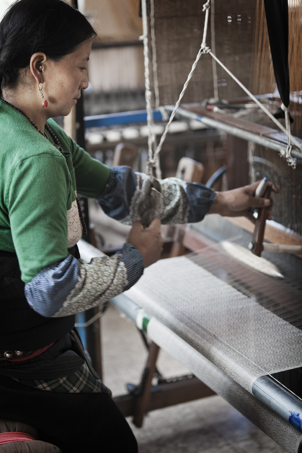 Production in the Norlha atelier, Ritoma, Amdo, Tibet