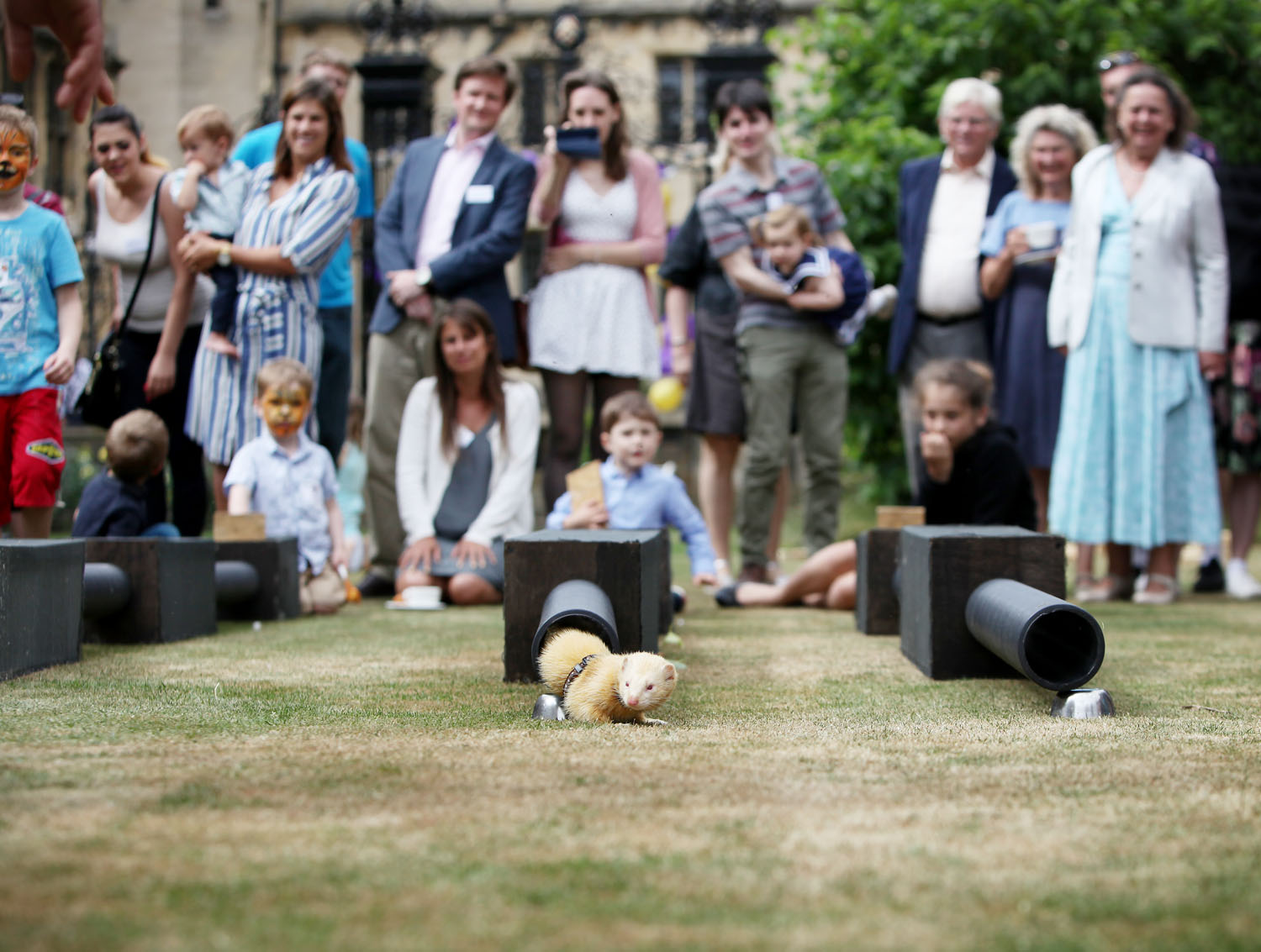 Photography of Merton College and the Merton College/Society 2017 Family Fayre, held at Merton College Oxford on the 25th June 2017.