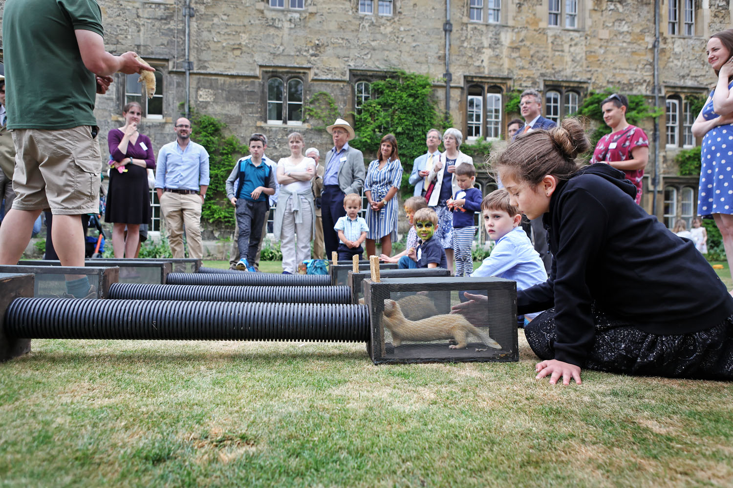 Photography of the Merton College/Society 2017 Family Fayre, held at Merton College Oxford on the 25th June 2017.