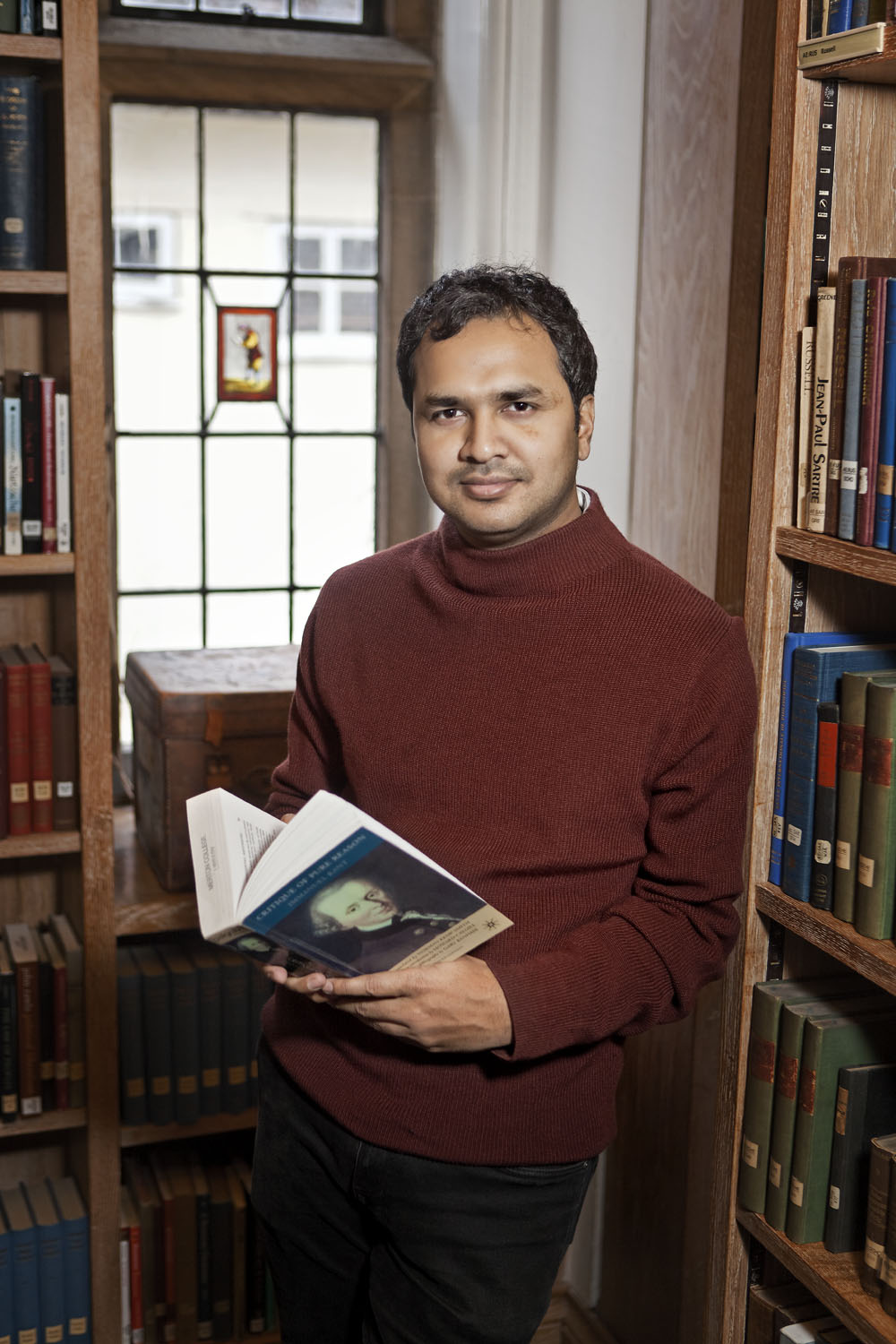 Adil Hossein at Merton College, University of Oxford