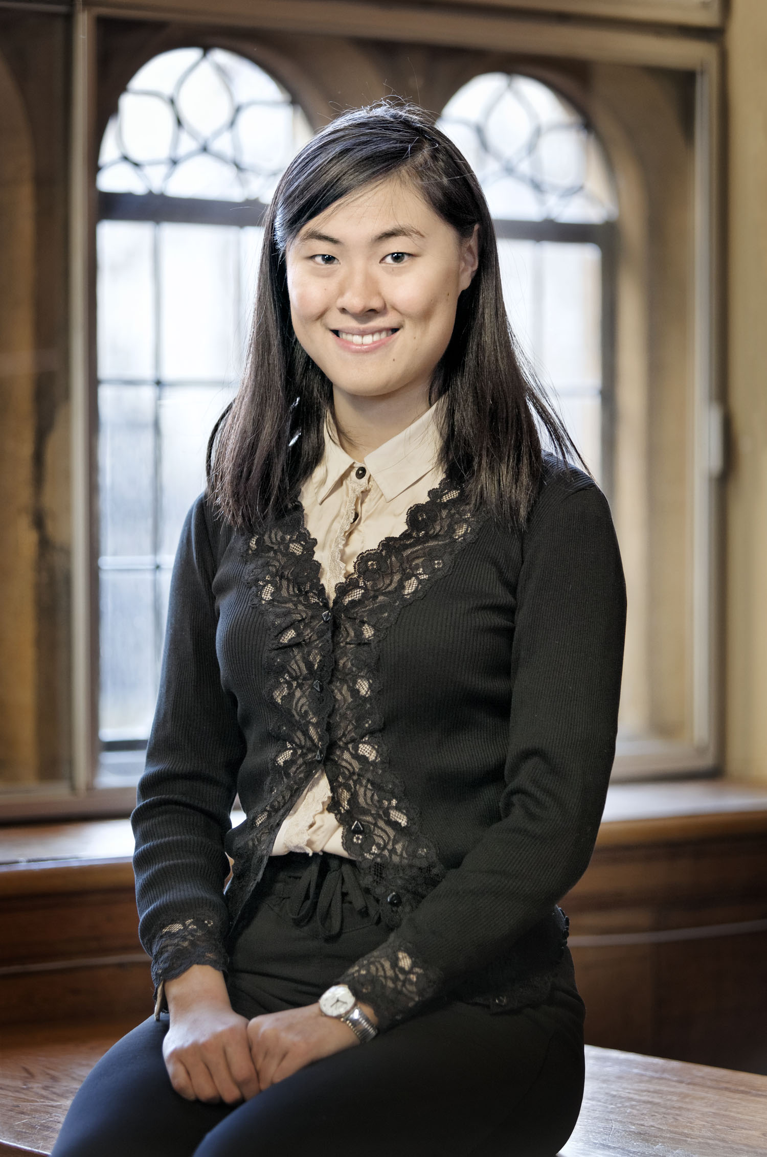 Kai Lin Sun at Merton College, University of Oxford