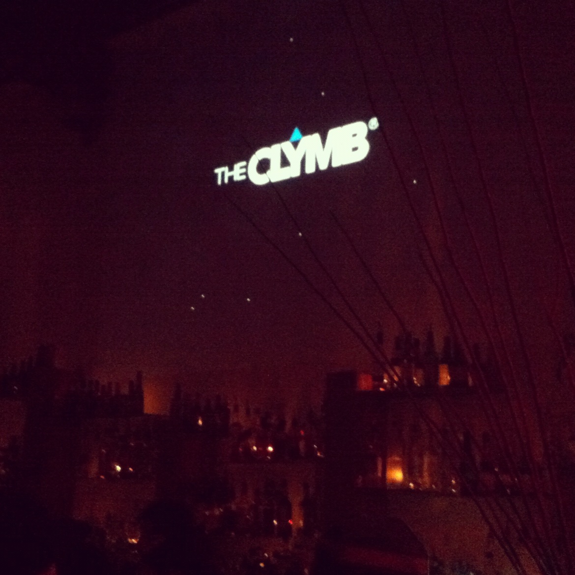 The Clymb Open Bar