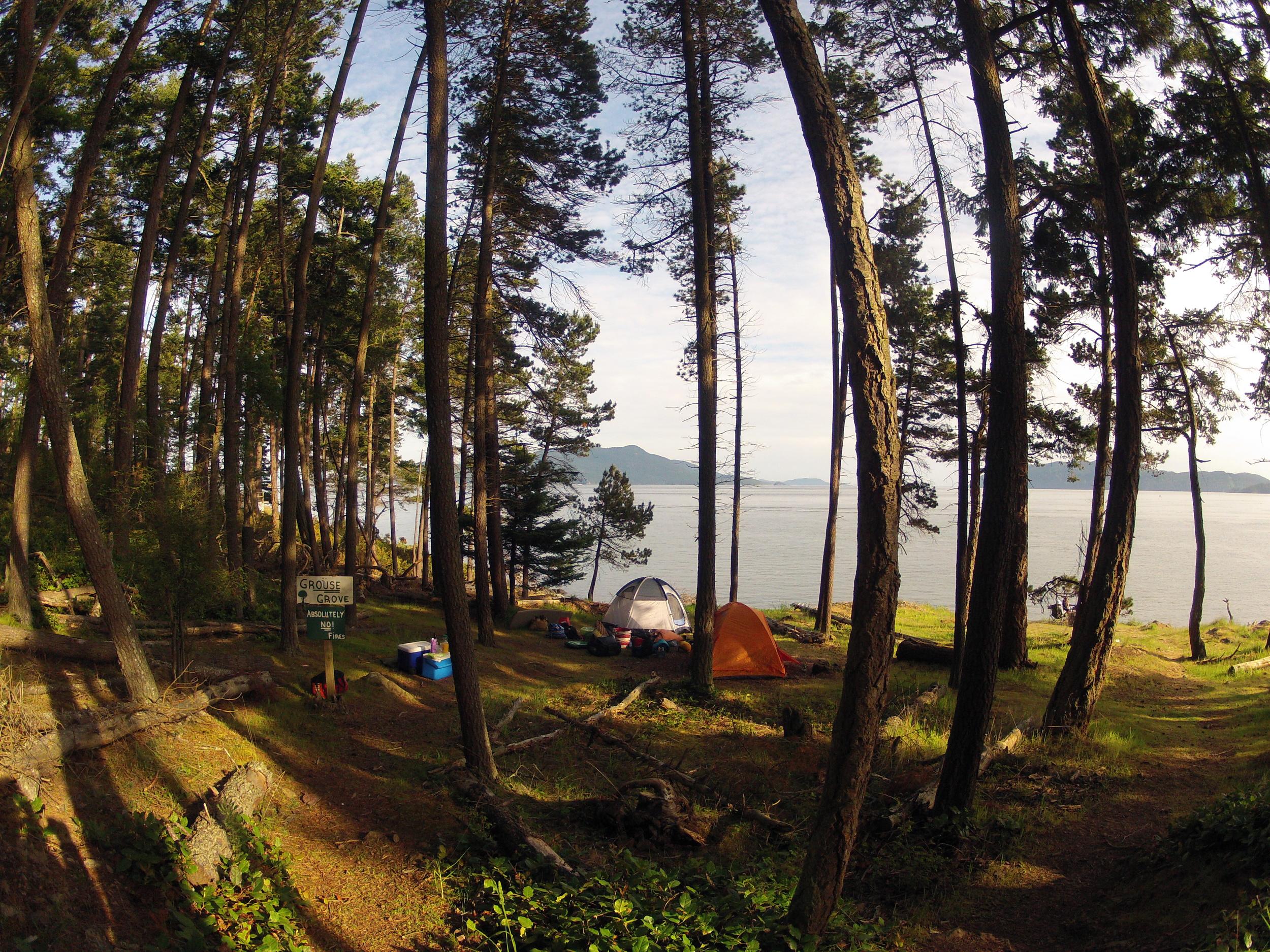 Grouse Grove Campsite - Doe Bay