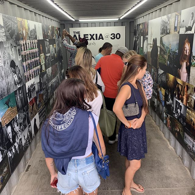 The Alexia experience continues at Photoville. #newhouse_vis,#alexiafoundation