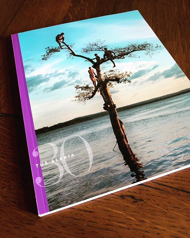 Proof copy of The Alexia 30th anniversary book arrived. Concept and design by Bill Marr, essays be Aphrodite Tsairis and Peggy Peattie, editing by Lynn Medford and Eileen Mignoni. You'll be able to order your copy this fall. Find me at Photoville this weekend and I'll show you in person.  #alexiafoundation #newhouse_vis