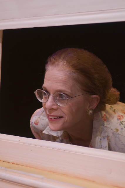 Michèle as Amanda in Southern Comforts   Photo by Warren Westura