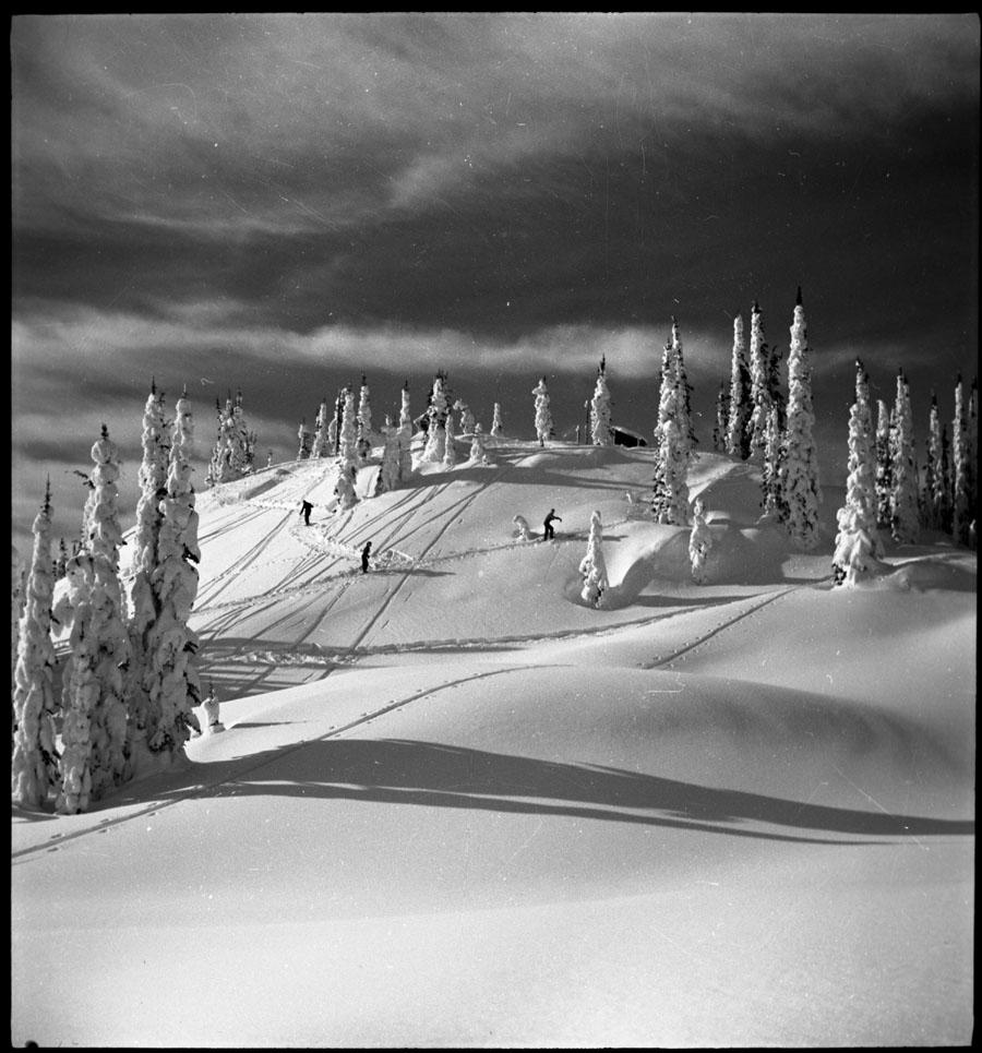Skiers Mt. Revelstoke Summit [DN-106]