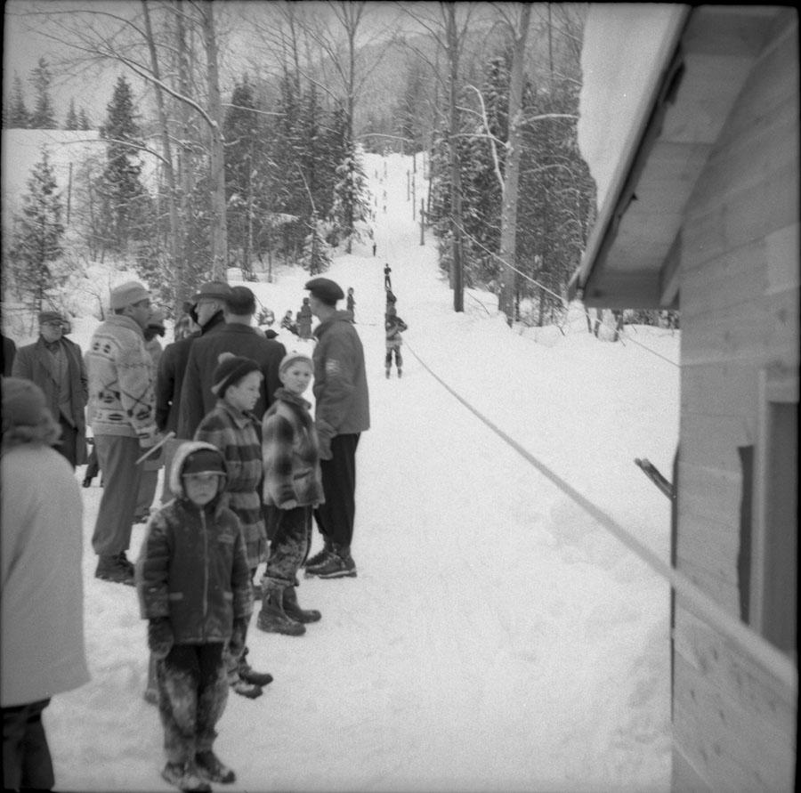 Ski Tow Mt. Revelstoke 1956 [DN-624]