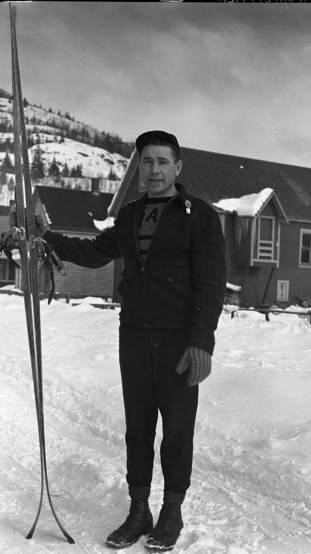 Bob Lymburne, Ski Jumper [DN-749]