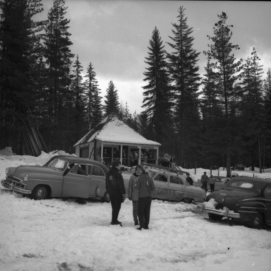 Junior Ski Tournament, 1960 [DN-918]