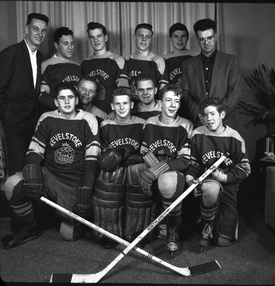 Revelstoke Hockey Team 1956 [DN-227]