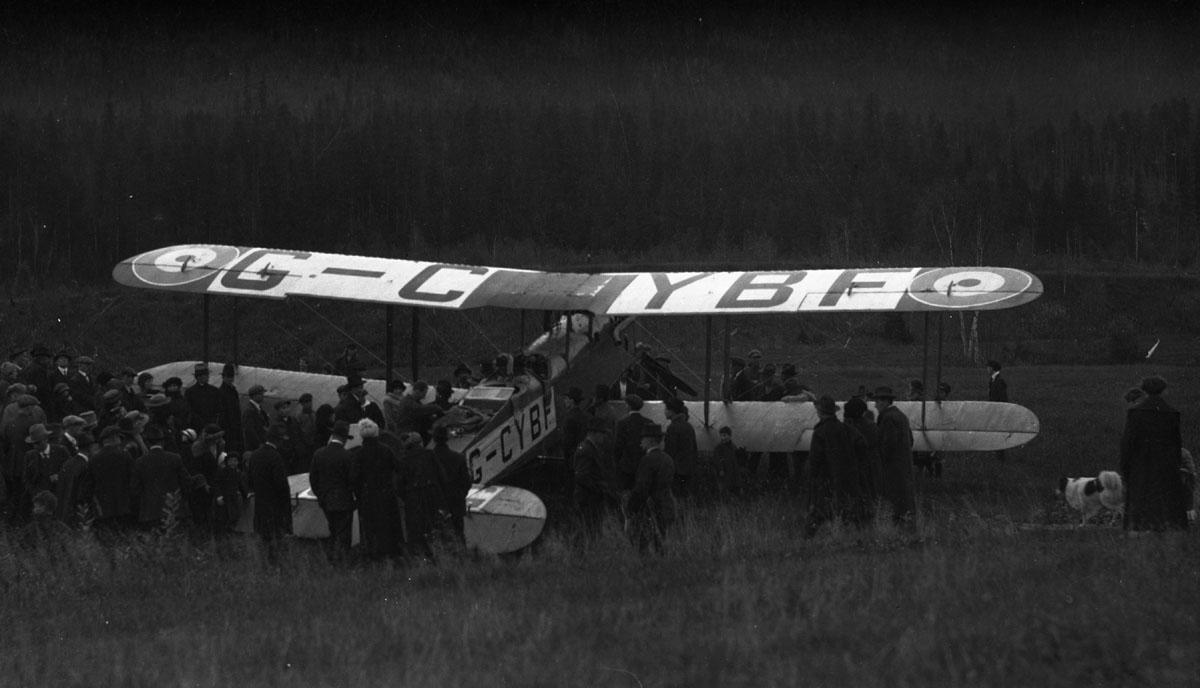 First Transcontinental Flight, 1920 [DN-971]
