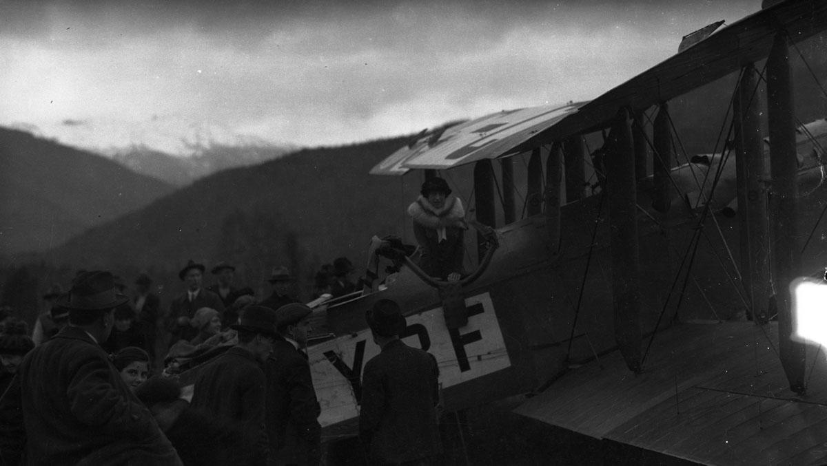 First Transcontinental Flight, 1920 [DN-972]