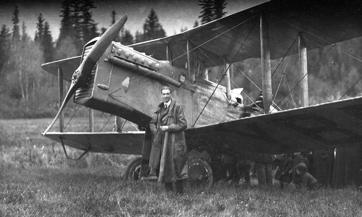 First Transcontinental Flight & Pilot, 1920 [DN-973]