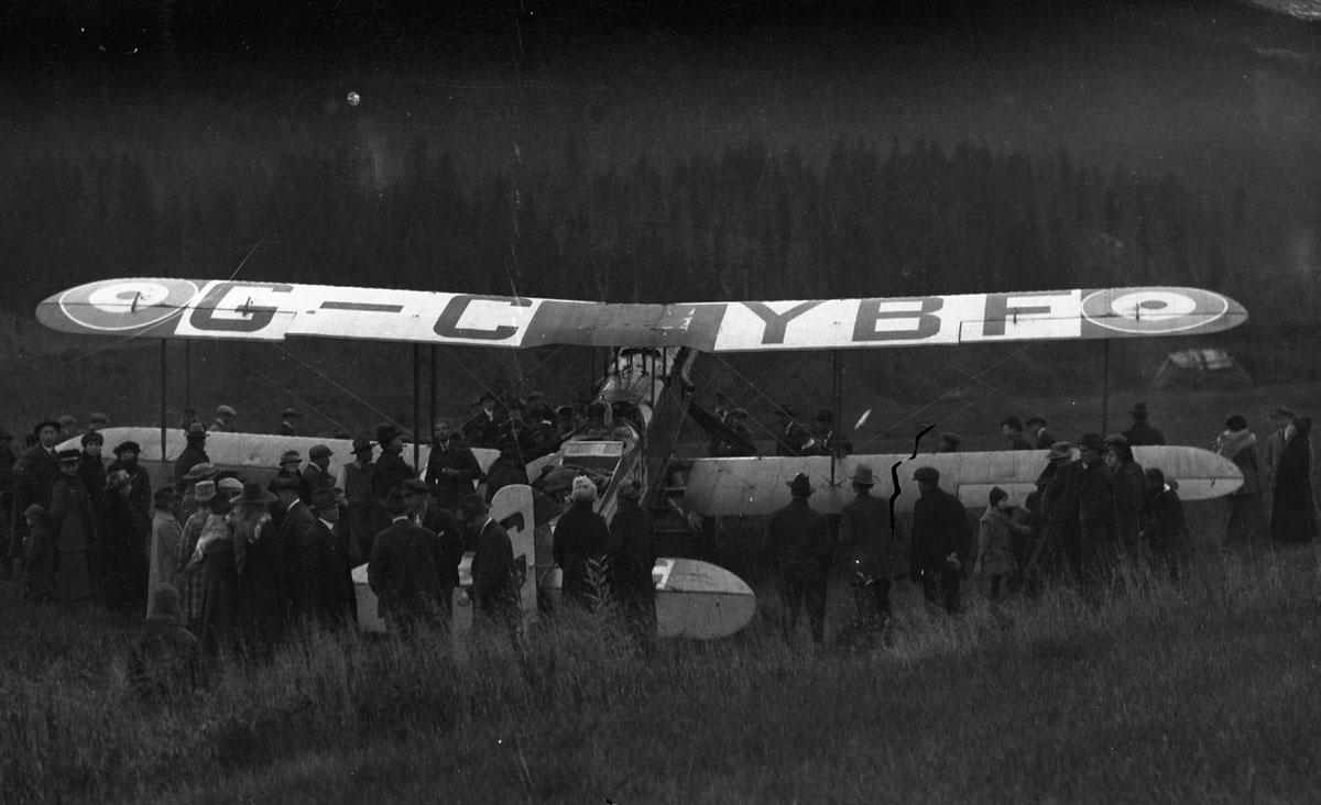 First Transcontinental Flight, 1920 [DN-974]