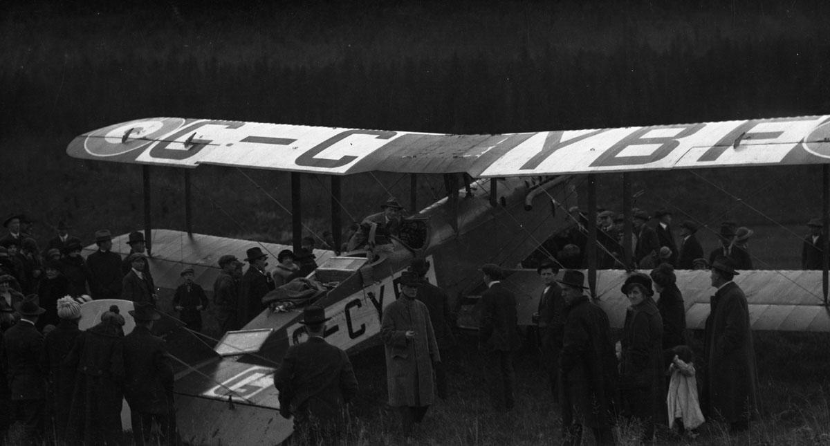 First Transcontinental Flight, 1920 [DN-975]