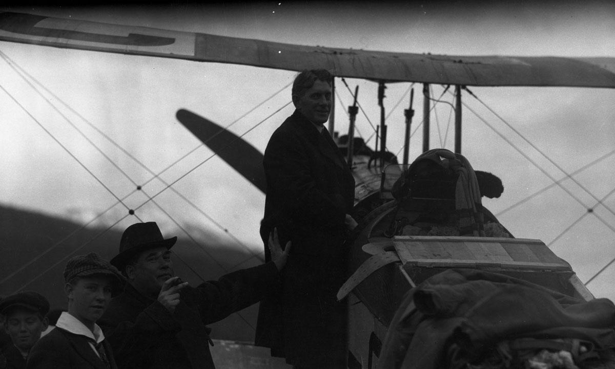 First Transcontinental Flight, 1920 [DN-977]