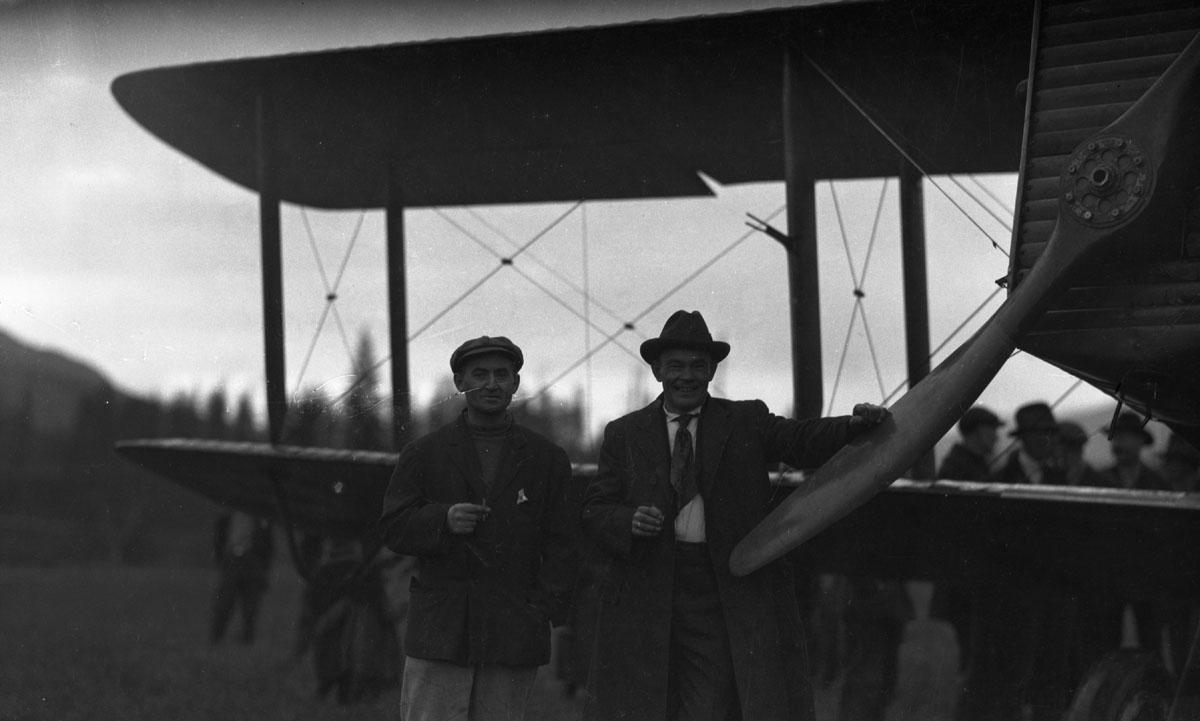 First Transcontinental Flight, 1920 [DN-978]