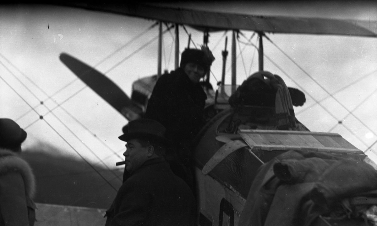 First Transcontinental Flight, 1920 [DN-979]