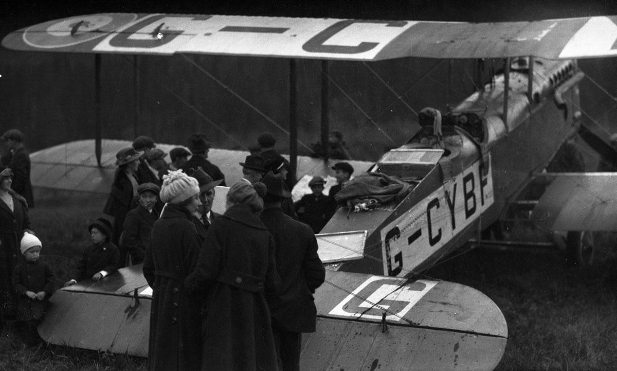 First Transcontinental Flight, 1920 [DN-980]