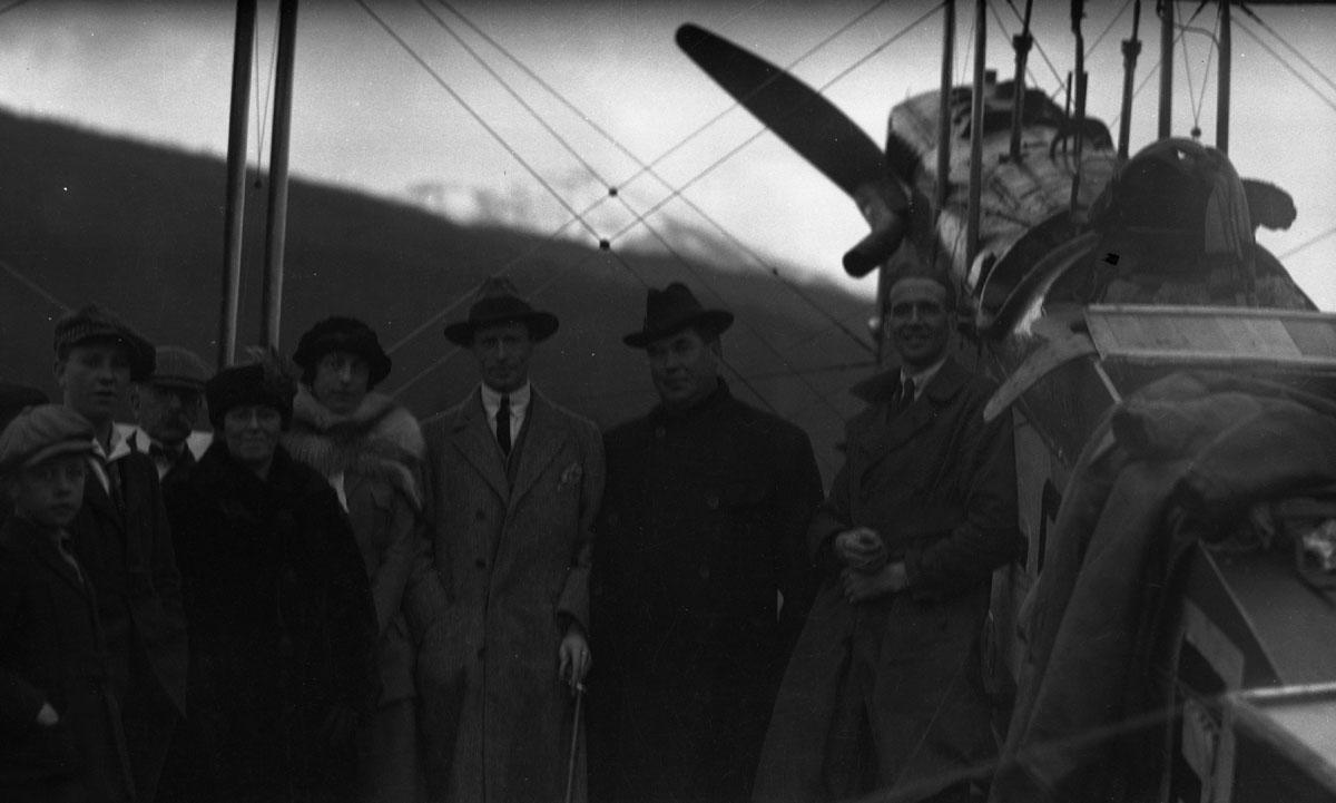 First Transcontinental Flight, 1920 [DN-981]