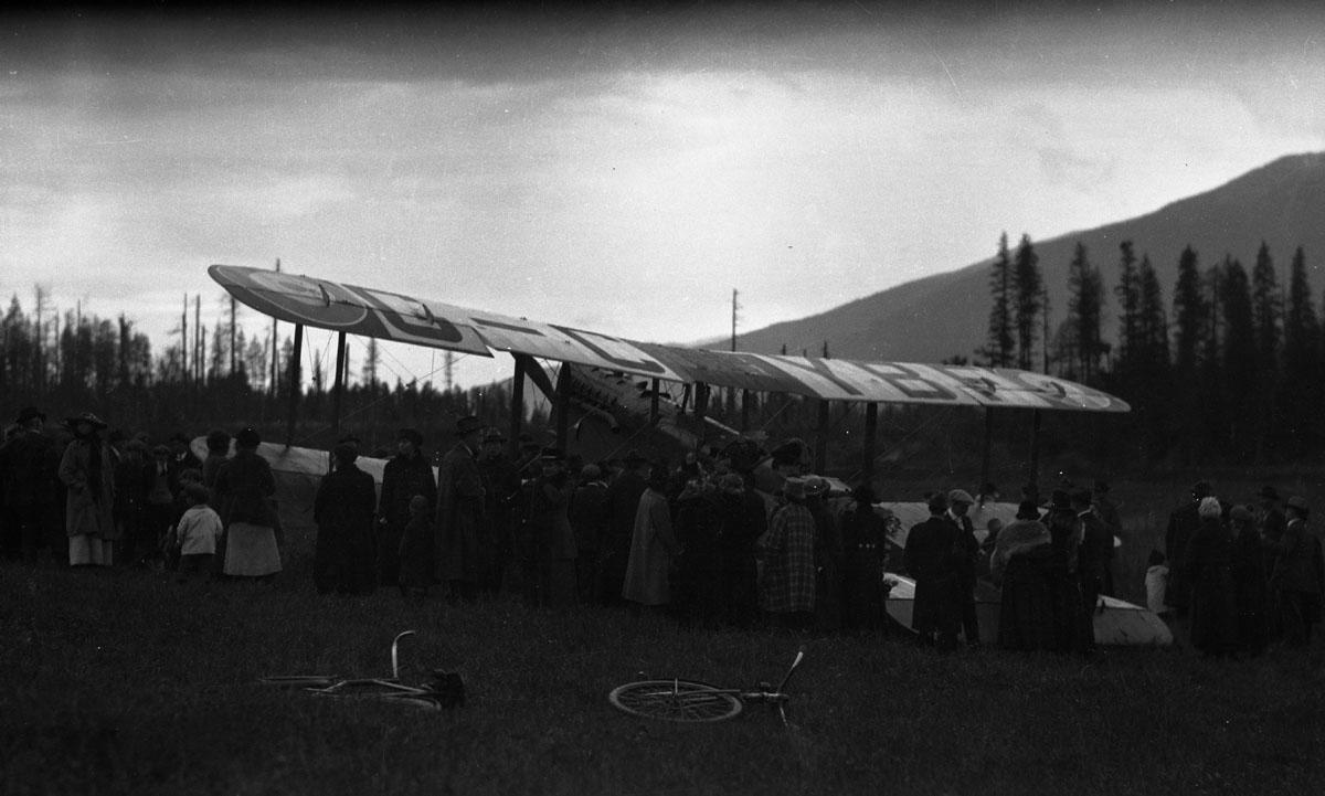 First Transcontinental Flight, 1920 [DN-983]