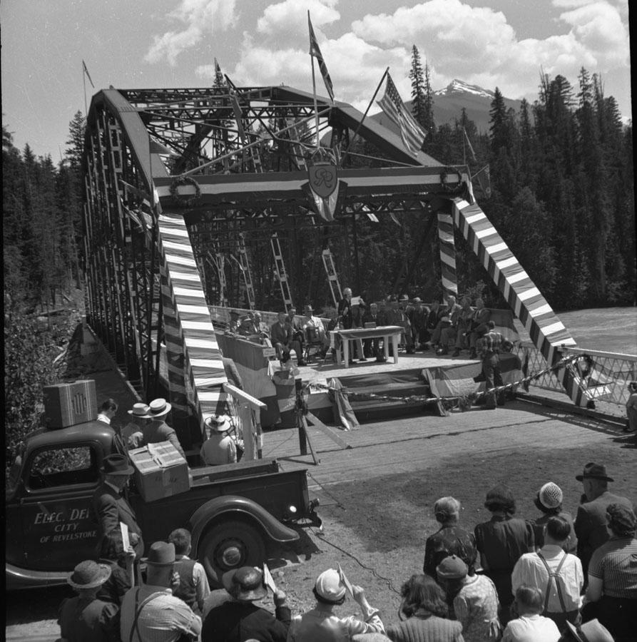 Opening of Big Bend Highway [DN-343]