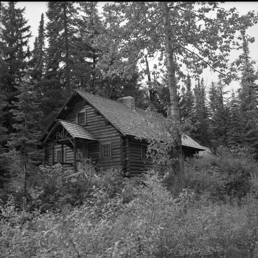 Alpine Club of Canada Hut at Glacier [DN-836]