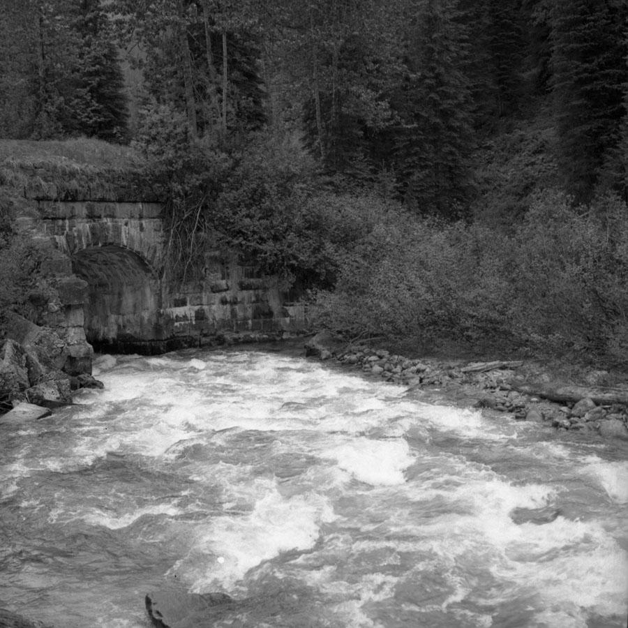 Stone Bridge, Glacier 1971 [DN-839]