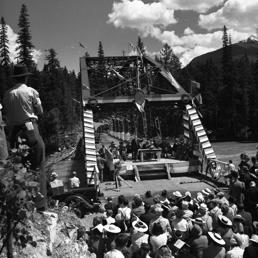 Big Bend Highway Opening, 1940 [DN-947]