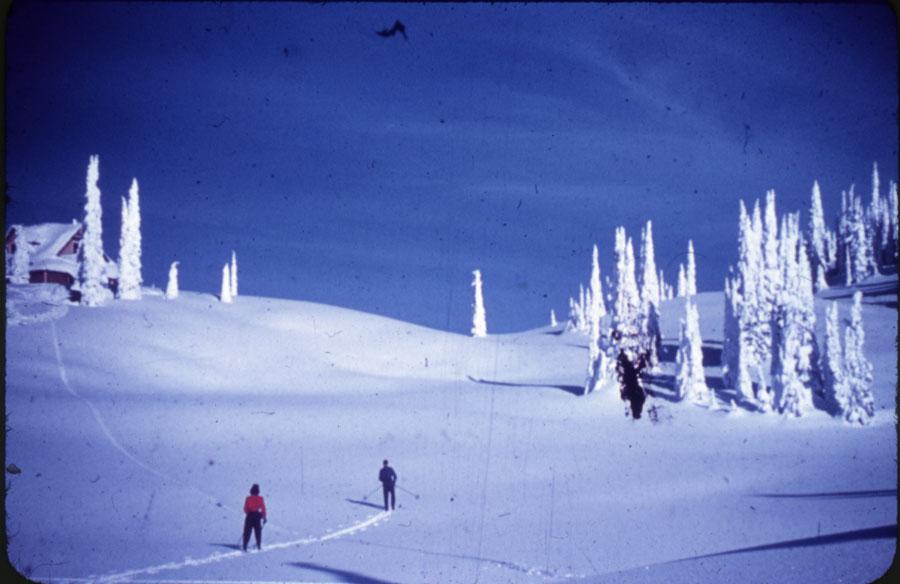 Skiers on Mt. Revelstoke Summit [DC1-25]
