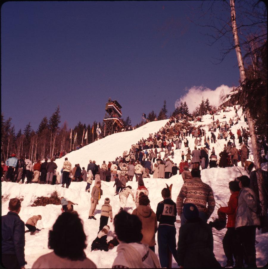 Ski Jumping Tournament, 1964 [DC2-27]