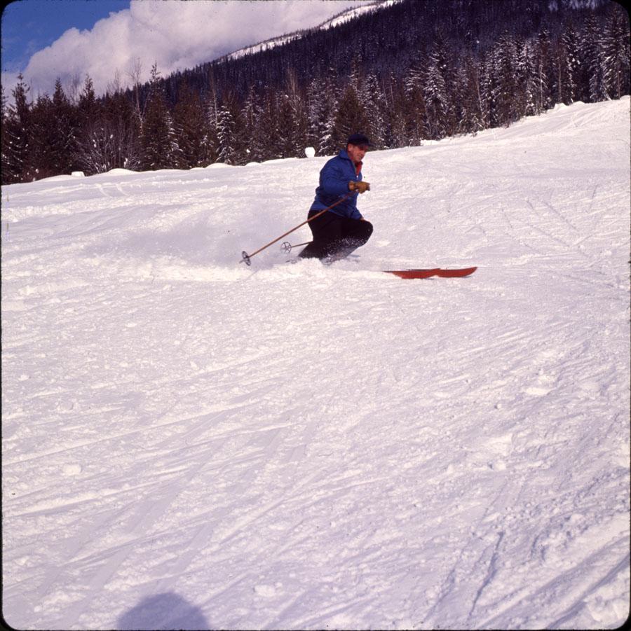 Skiing on Mt. Mackenzie [DC2-35]