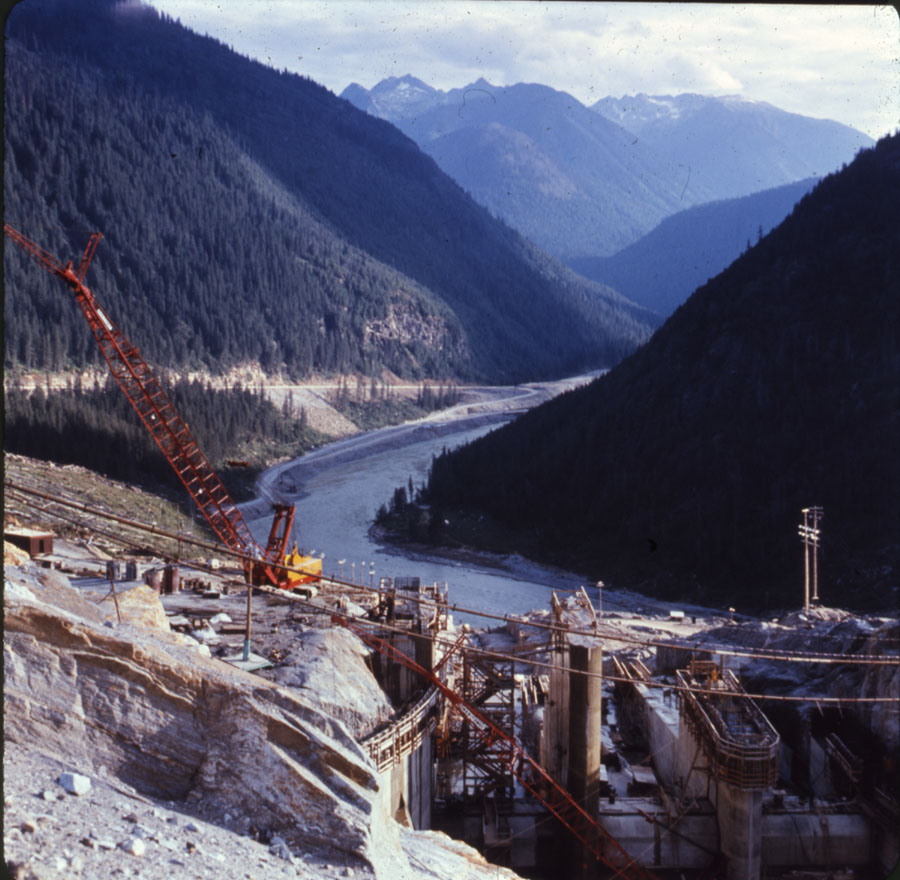 Mica Dam Construction, 1970 [DC1-81]