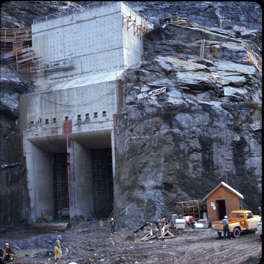 Mica Dam Construction, 1967 [DC2-49]